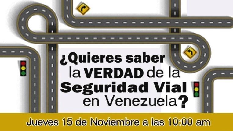 IV Encuentro De Seguridad Vial – Caracas 15 Y 16 De Noviembre, 2018