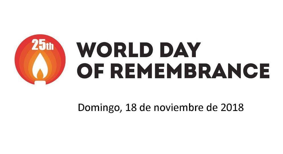 Dia Mundial De Recuerdo De Víctimas De Tráfico De Carreteras – 18 NOV 2018