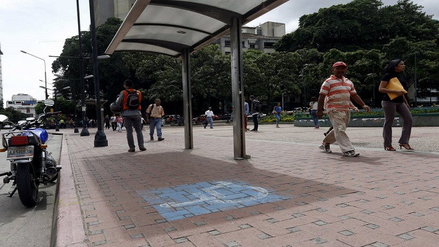 Metrobus Vialidad Caracas